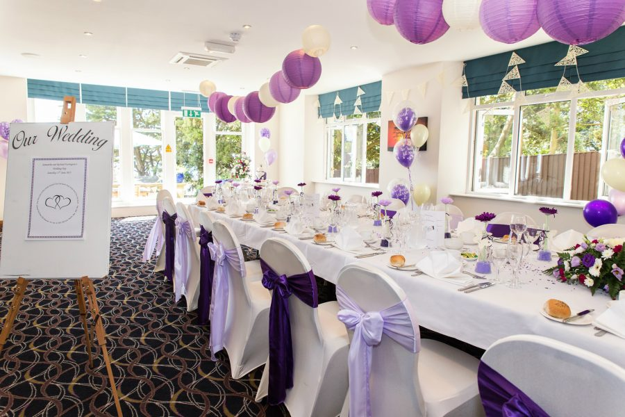 An Intimate Bournemouth Wedding Venue Suite