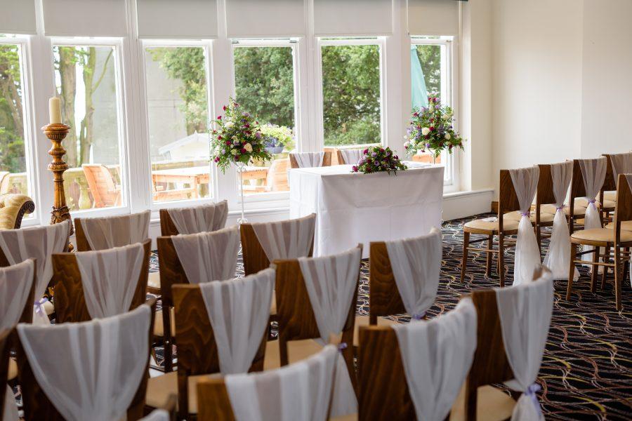 A Bournemouth Ceremony Wedding Room
